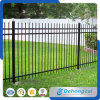 High Quality Iron Casting Fencing / Simple Garden Wrought Iron Fence