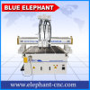 Ele 1325 High Quality Pnumatic 3 Heads CNC Router, Cheap 3D CNC Router with 3 Spindles