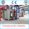 Competitive Price Custmize Powder Coating Line for Gas Tank