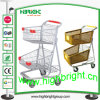 American Style Two Tier Convenient Store Shopping Cart