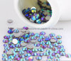 Diamond Ornament Strass Crystal Stone Cloth Rhinestone Flat Back Stone (FB-ss20 lt amethyst ab/3A)