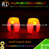 LED Furniture Light up Small Tripod Seat PE Stool