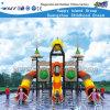 Amusement Park Three Slide Kids Outdoor Playground HD-Tsd004