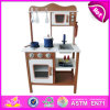 2014 New Wooden Play Kitchen, Popular Kids Toy Play Kitchen, Hot Sale Children Set Play Kitchen Factory W10c045c