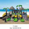 2015 CE Plastic Slide Outdoor Playground for Children