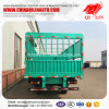 Cheap Price 3 Axles Cargo Fence Side Wall Semi Trailer