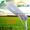 Super Bright 80W Integrated Solar LED Street Light