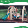 Wholesale Cheap Plastic House with Swing Set From Guangzhou Manufacturer
