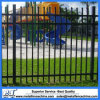 Back Powder Coated 2.1*2.4m Tubular Steel Fence