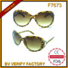 Plastic Fashion Women Sunglasses China Manufacturer (F7673)