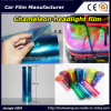 Fashion Car Color Change Film Car Light Sticker, Chameleon Car Light Tinting Film