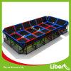 Liben Popular Rectangular Indoor Trampoline for Adults