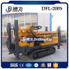 Portable Dfl-200s Hydraulic DTH Hammer Bits Simple Drilling Machine
