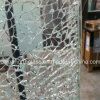 Ice Crackle Laminated Glass for Decoration