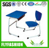 Strong Quality Low Price School Student Shelf Desk with Chair Sf-61s
