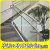 Indoor Stainless Steel Handrail Staircase Glass Balustrade