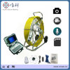 Vicam Pan and Tilt Waterproof Camera Tube 8 Videos Chimney Pipe Inspection Camera with Meter Counter