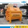 Js2000 Twin Shaft Concrete Mixer