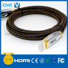 HDMI 19 Pin Plug-Plug Cable for Cellphone Camcorders HDTV Gold Plug
