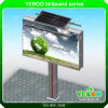 Outdoor Solar Power Front Lights Advertising Billboard