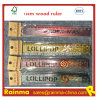 18cm Wooden Ruler with Stencil and Artwork Print