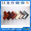Factory Wood Grain Transfer Printing Aluminum Profile