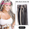 New Design 100% Remy Lace Clip in Hair Extension