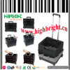 Plastic Folding Square Cart with Polyester Tool Bag