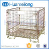Material Handling Galvanized Storage Collapsible Wire Mesh Cage
