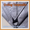 Sewing D-Ring Silver Tarp Tarpaulin with UV Treated
