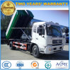 10cbm 6 Wheels Hook Arm Roll off Refuse Truck 10 Tons Hook Garbage Truck