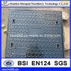 Iron Casting Ductile Iron Square C250 Manhole Cover