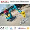 New Excavator Price, Mini Excavator Supplier in China, 0.8ton, 1.2ton 1.5ton Mini Farm Digger for Sale