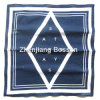 Customized Logo Printed Blue One Color Printed Cotton Promotional Head Bandana