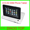 7′′ A13 Android Phone Tablet Capacitive Dual Camera 2g GSM Calling