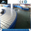Ce Certificate Punching Hole Trackmounted Chain Plate Conveyor Belt with Guard