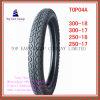 Size 300-18, 300-17, 250-18, 250-17 High Quality Nylon 6pr Motorcycle Tyre