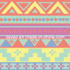 Polyester Printed Peach Skin Fabric for Garment or Textile