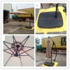 Hz-Um73 10ft (3m) Hand Push Hanging Banana Umbrella Garden Umbrella Outdoor Umbrella Parasol Sun Umbrella