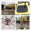 Hz-Um73 10ft (3m) Hand Push Hanging Banana Umbrella Garden Umbrella Outdoor Umbrella Parasol Sun Umbrella