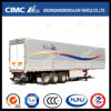 Cimc Huajun 3axle Van/Box Semi Trailer with Wingspan