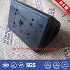 Custom Black D Section Heavy Duty PVC Rubber Molded Dock Corner Bumper Profile for Security