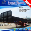 Tri Axles Side Wall Cargo Dropside Semitrailer for India
