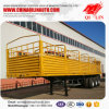 Side Wall Drop Semi Trailer for Bulk Cargo Loading