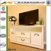 White 4 Drawers TV Cabinet