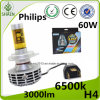Best Sale Philips H4 H/L Beam 60W G6 LED Headlight
