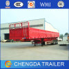 3 Axle Fiberglass Side Wall Cargo Semi Trailer for Sale