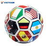 Wholesale Promotion Country Flag PVC Football Ball