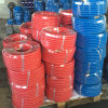 5/8 X 25 FT Red Rubber Garden Hose with Brass Ght Fittings
