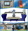 Automatic Granite Bridge Saw with Miter Cut for Cutting Countertop/Tile